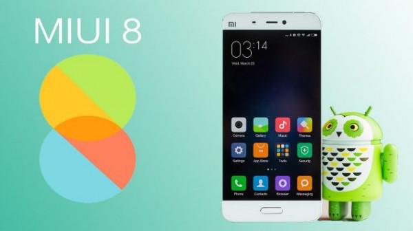 MIUI 8 поддерживает