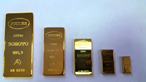 Подорожание золота достигло пятимесячного максимума