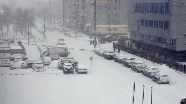 Циклон оставил 12 тысяч жителей Сахалина без света