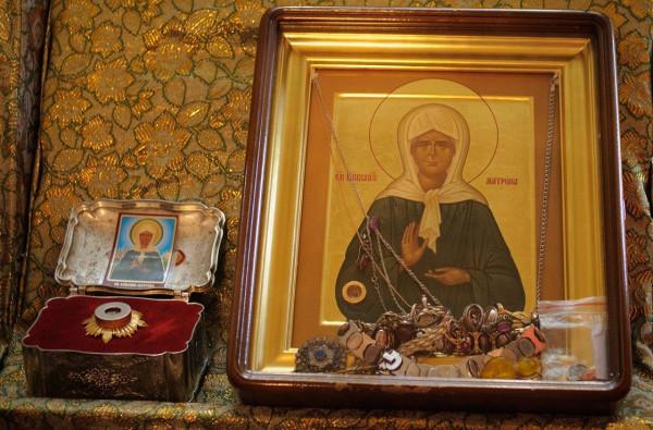 В Михайловск привезут мощи святой блаженной Матроны