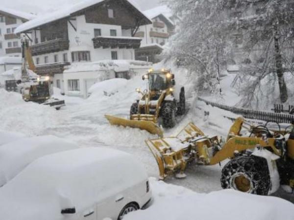 В Молдавии объявили Чрезвычайное положение из-за снегопада