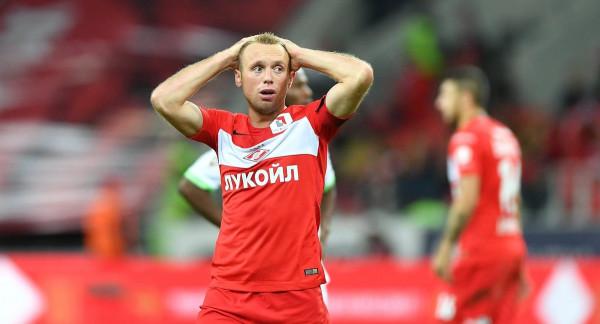 Футболист «Спартака» Денис Глушаков удовлетворен решением КДК