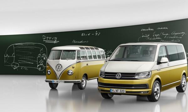 Volkswagen отмечает 70-летие появления легендарной модели Bulli