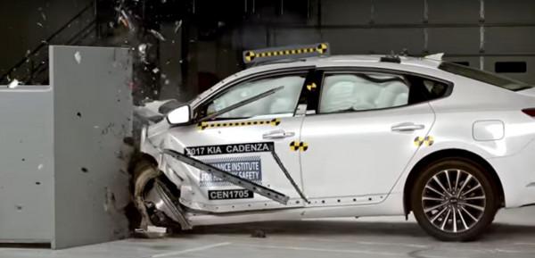 Седан KIA Cadenza назван одним из самых безопасных автомобилей