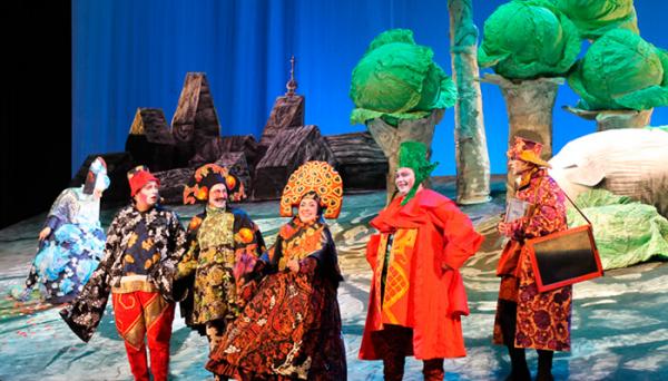 Буддийский московский театр дал первый спектакль в Нижнем Новгороде