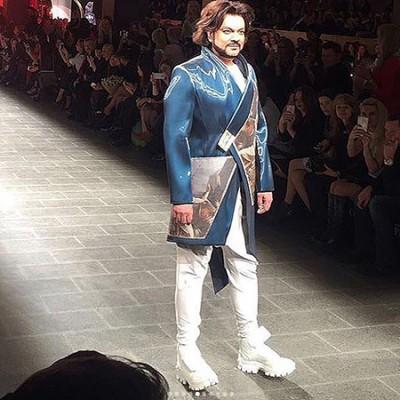 Филлип Киркоров представил коллекцию одежды, созданную специально для него в Санкт-Петербурге