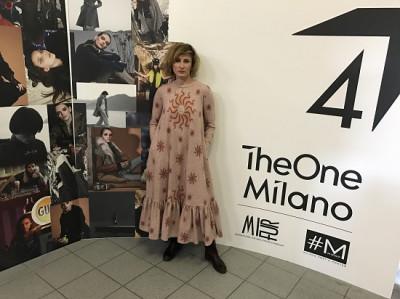 Людмила Лабкова  представила в Милане коллекцию «SFORZESCO»