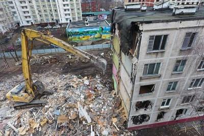 Минпромторг опроверг идею о постройке деревянных домов при реновации жилья в Москве
