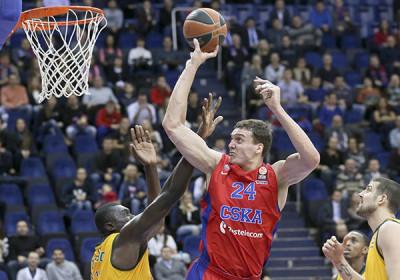 Баскетболисты ЦСКА вышли в «Финал четырех» Евролиги