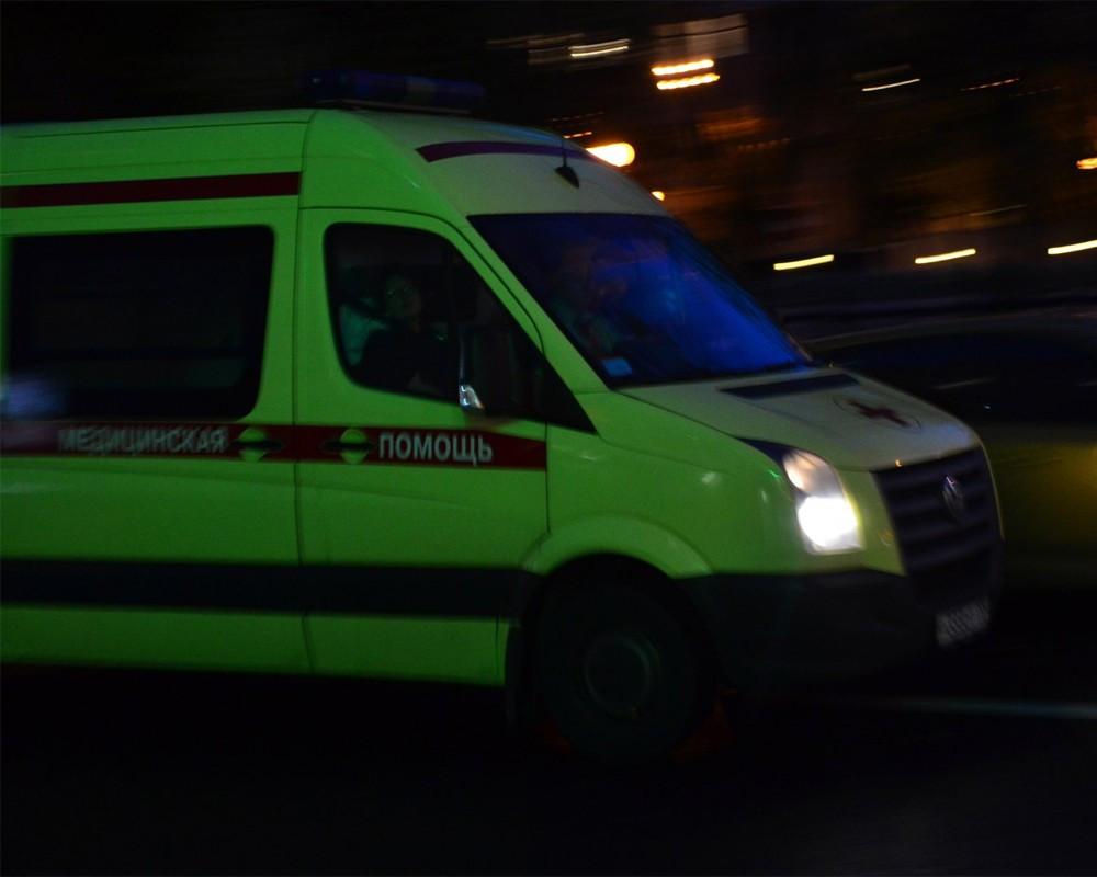 После потасовки вцентре столицы мужчину доставили в поликлинику