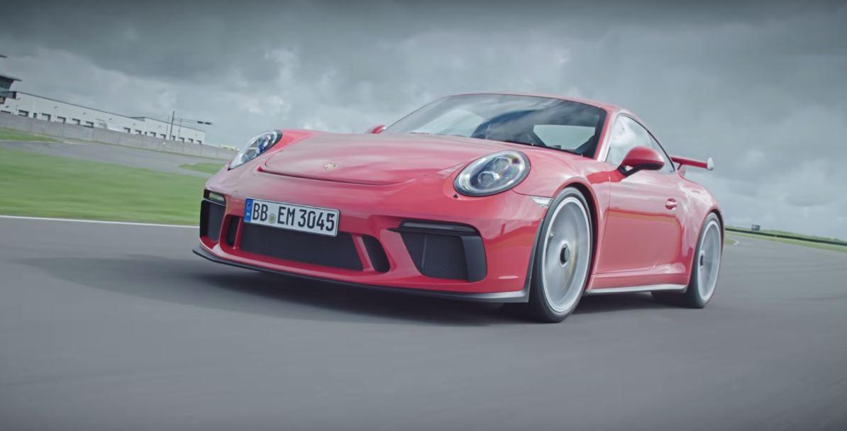 Порше 911 GT3 назван лучшим автомобилем марки Порш