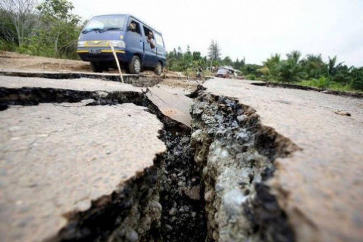 Мощное землетрясение случилось награнице США иКанады