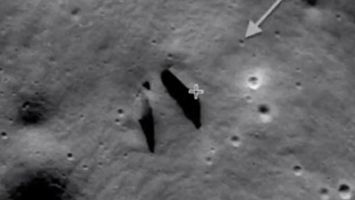 Охотник заНЛО продемонстрировал навидео тайный вход втоннель наЛуне