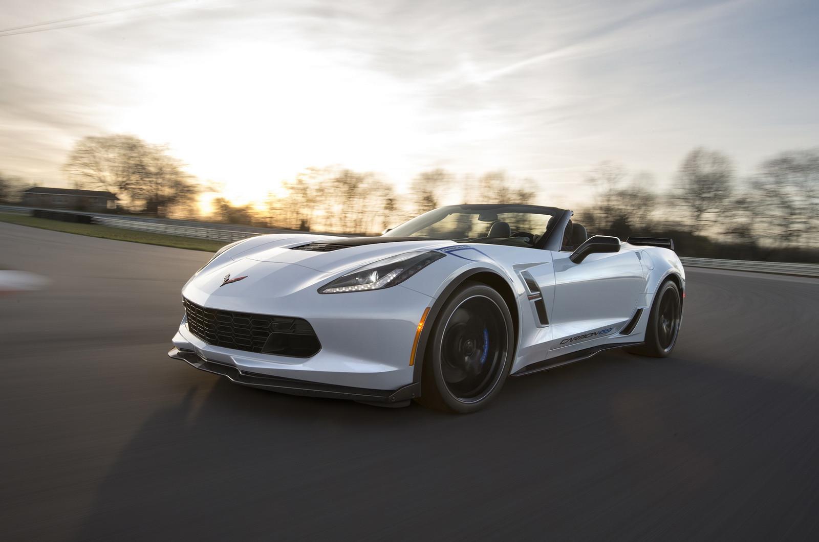 Шевроле выпустила спецверсию Corvette вчесть своего 65-летия