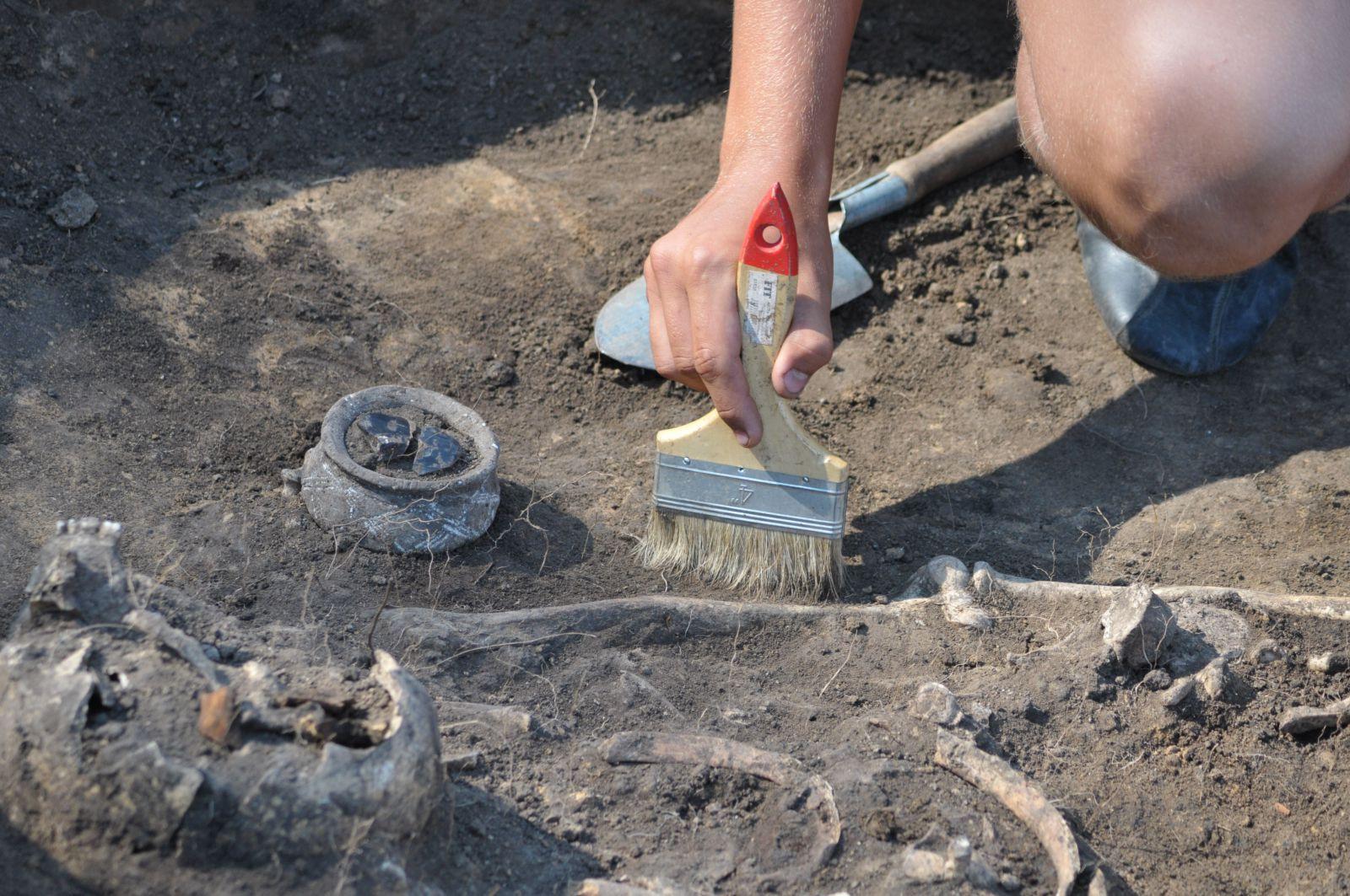 В «Поднебесной» найдены древнейшие захоронения гуннов