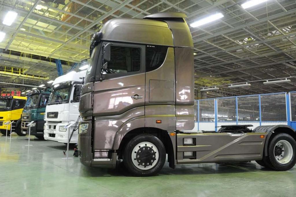 По результатам первого квартала продажи «КАМАЗ» увеличились на1,5 тыс. фургонов
