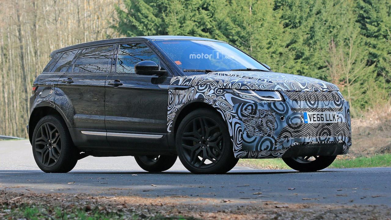 На трассах Англии увидели новый Range Rover Evoque