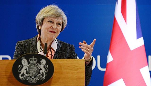 Брюссель желает воздействовать на финал досрочных выборов— Тереза Мэй