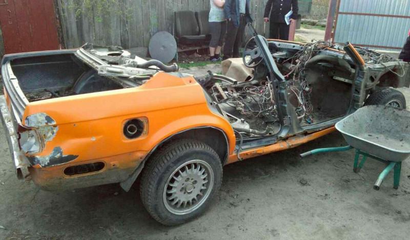 Ужительницы Пензы угнали раритетный «BMW»