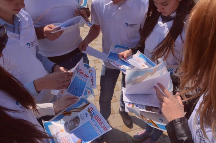 Ставропольские таксисты, студенты ибайкеры бесплатно подвезут фронтовиков
