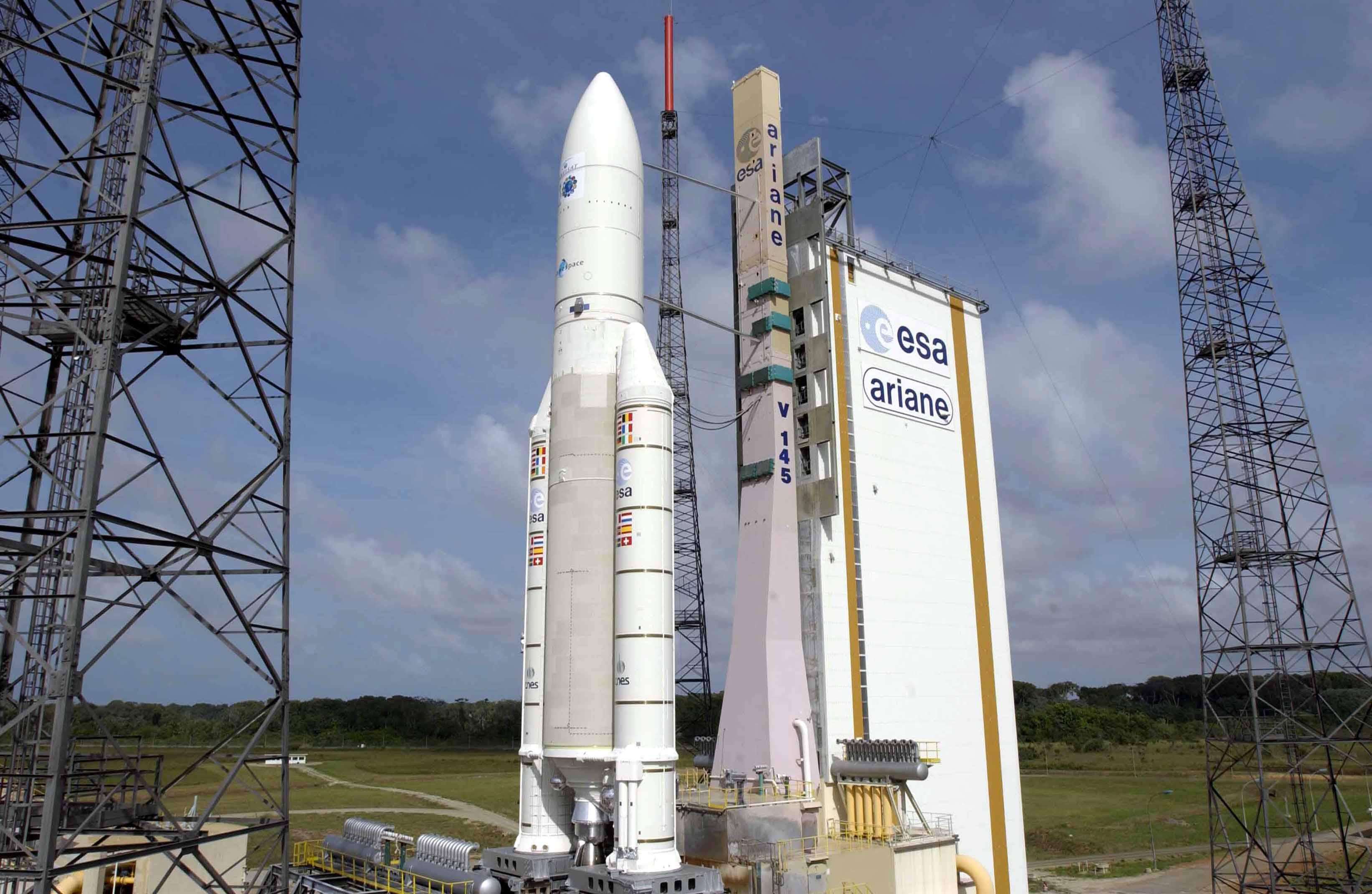 Ракета-носитель Ariane 5 благополучно стартовала скосмодрома Куру воФранции