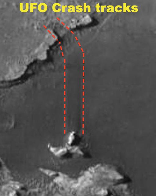 Уфологи отыскали следы крушения винтообразного НЛО наМарсе