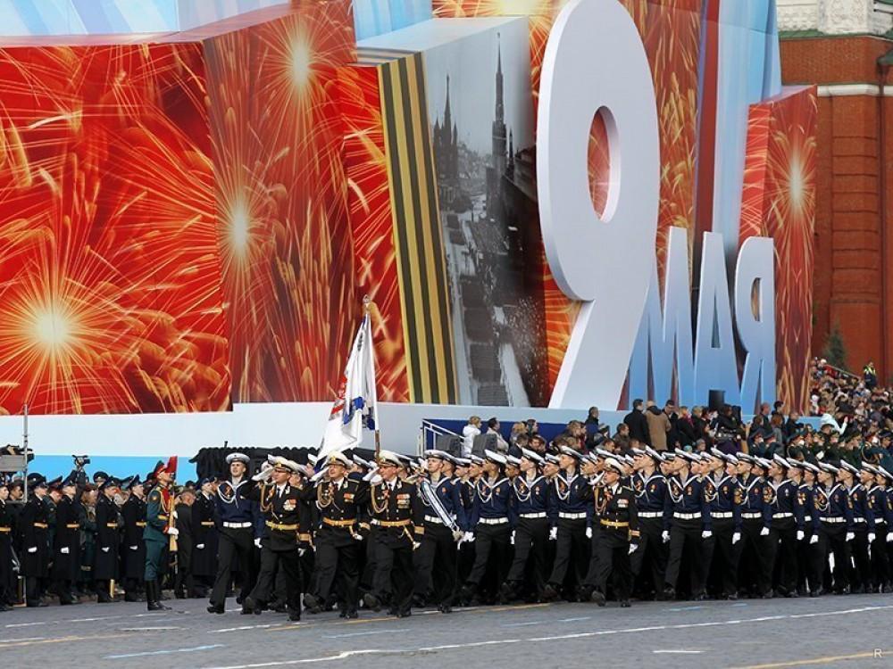 День Победы: в столицеРФ 9мая пройдёт без облачка