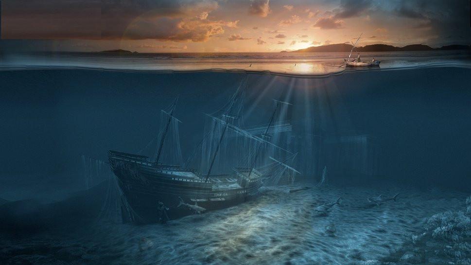 ВМексиканском заливе ученые обнаружили кладбище затонувших кораблей