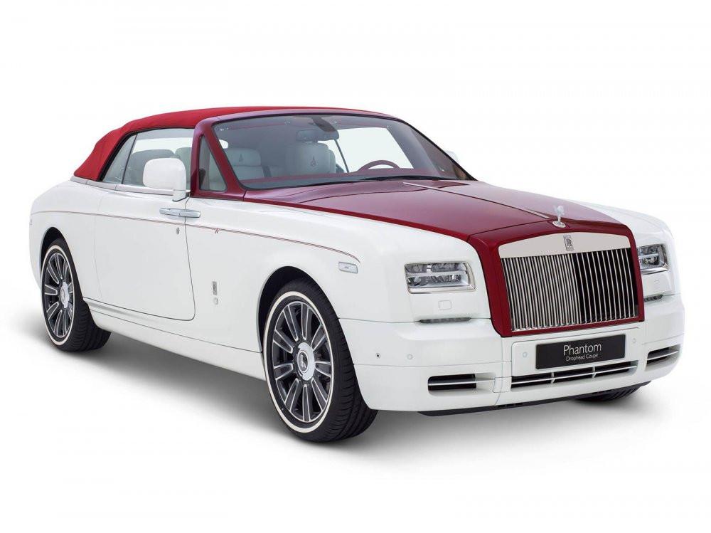 Роллс Ройс создал семь неповторимых авто для арабских клиентов