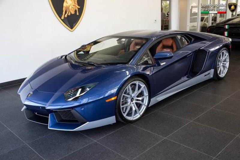 Размещены фотографии самого красивого автомобиля бренда Lamborghini