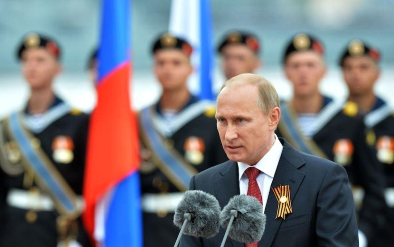 Путин поздравление днем победы 288