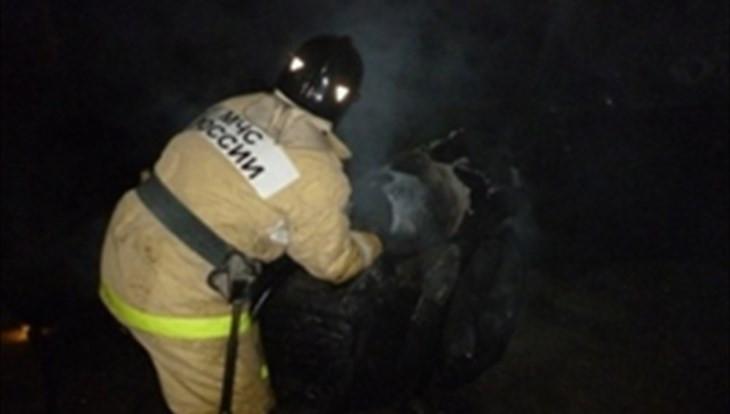 ВТомской области всгоревшей иномарке отыскали тела троих мужчин
