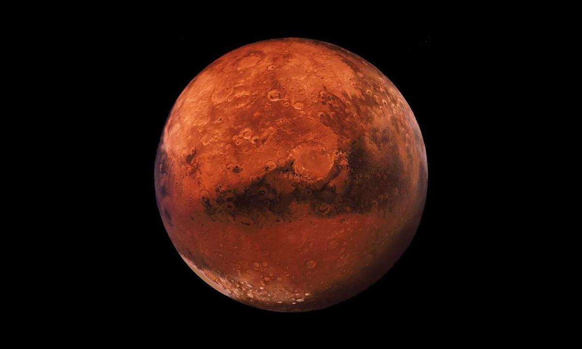 Уфологи нашли пиратские «череп и кости» на Марсе