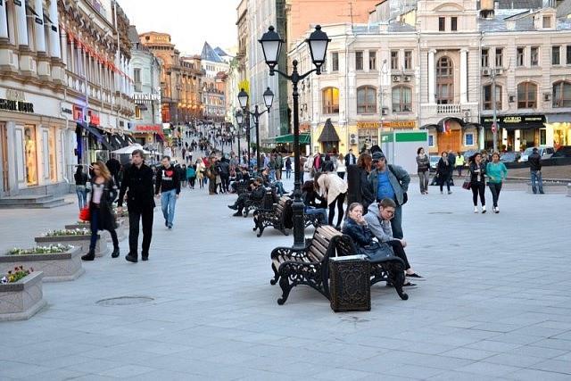 В столице России появится новая пешеходная зона
