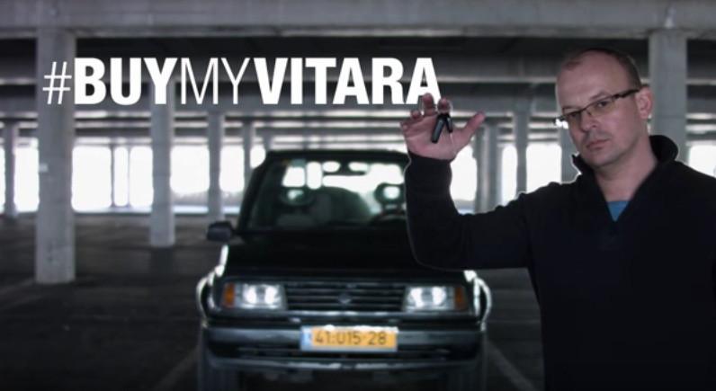 Рекламный ролик Сузуки Vitara спробегом стал вирусным