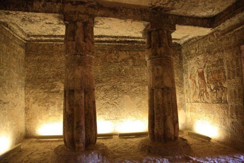 Археологи отыскали вЕгипте погребальную камеру принцессы издинастии фараонов
