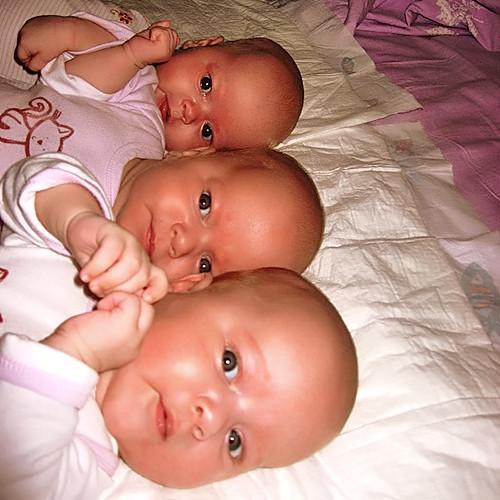 ВОмске родилась первая тройня за2017 год