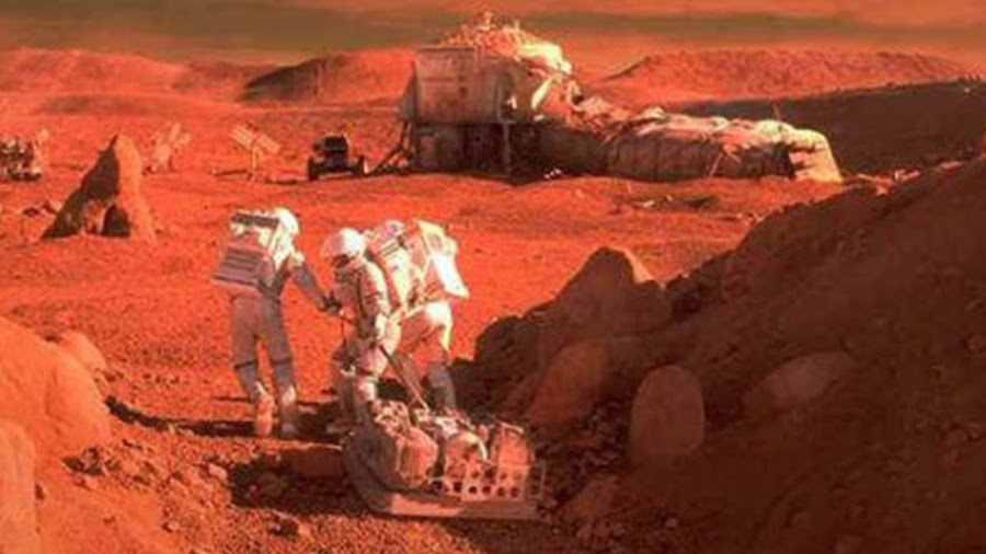 Названы пять смертельных опасностей Марса