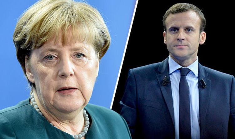 Меркель встретится сМакроном вБерлине 15мая