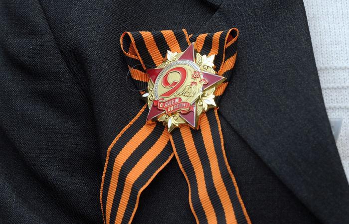 Под Нижним Новгородом спенсионерки сорвали георгиевскую ленточку 9мая