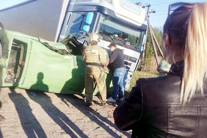 Последствия ДТП набрянской объездной запечатлели навидео