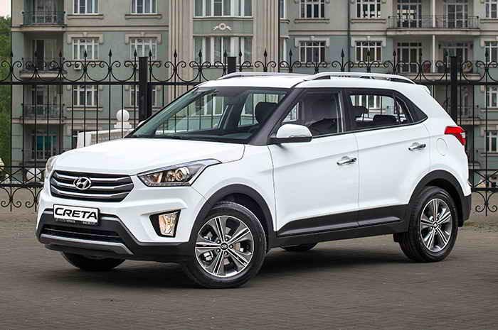 Hyundai Creta в апреле сохранил лидерство в сегменте SUV