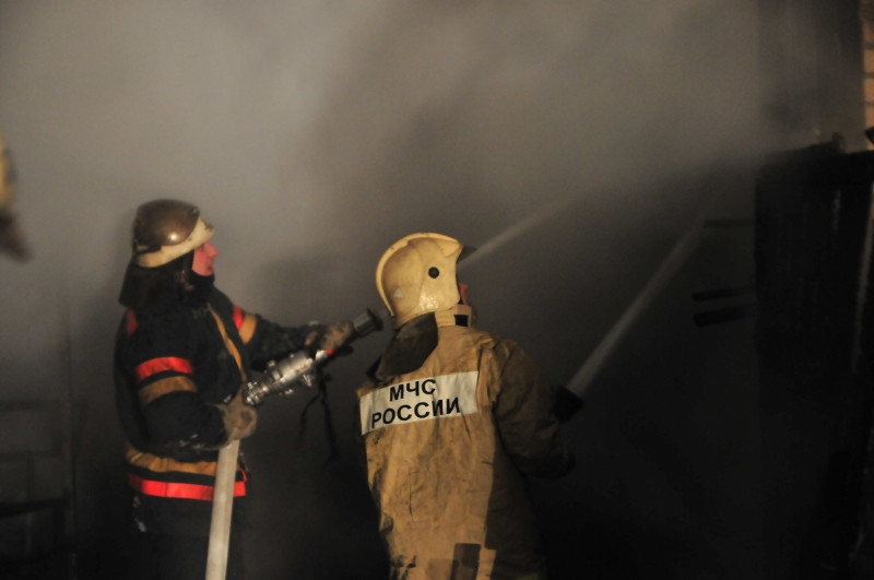 Вовремя пожара вМилославском районе пострадала старая женщина