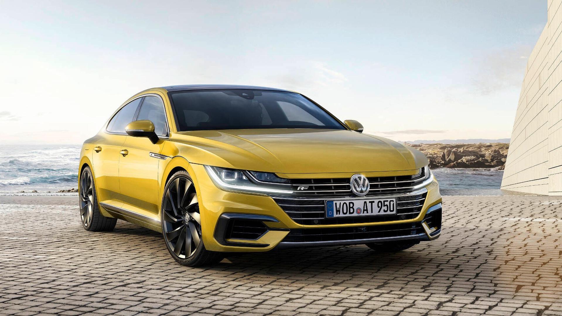 На дорогах Украины замечен флагманский Volkswagen Arteon