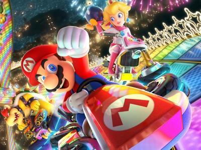 Геймер добавил Соника в Mario Kart 8