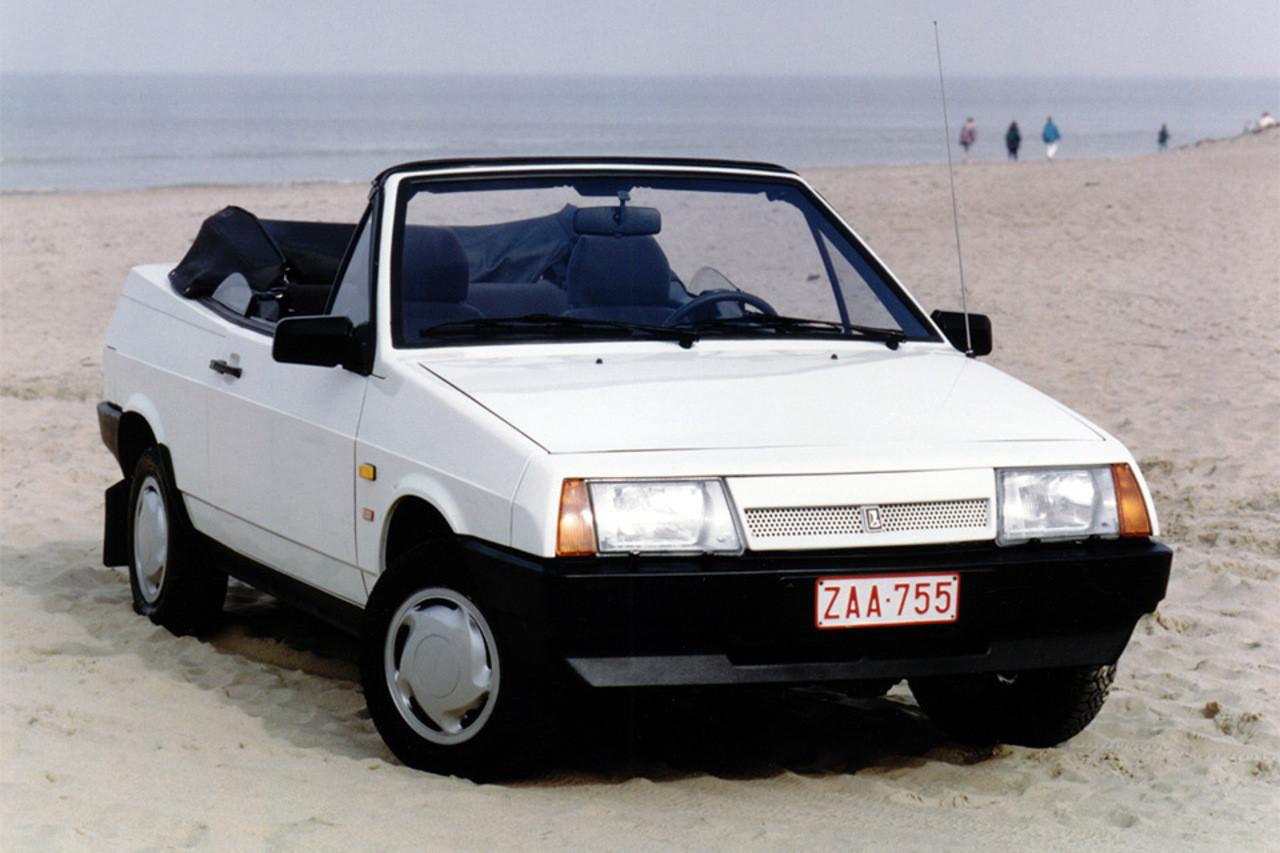 Samara Fun советский кабриолет, который поменял немцам «Мерседес»