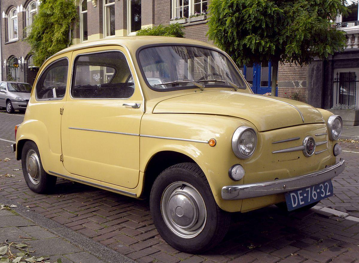 В SEAT возродили легендарную модель 600