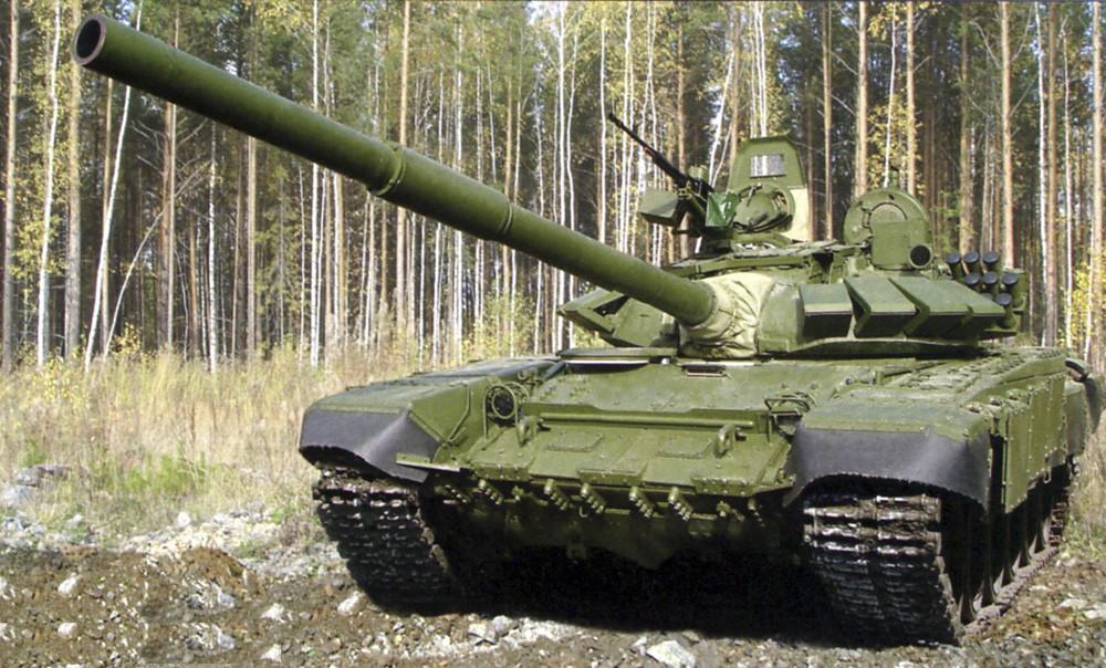 Танковая армия вЗВО получила модернизированные Т-72БЗ