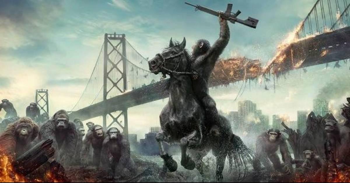 Стал доступен для просмотра завершающий трейлер «Планета обезьян: Война»