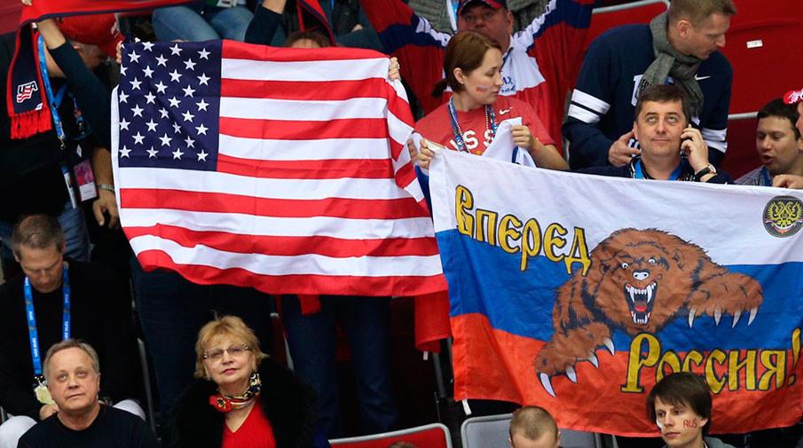 Сборная Российской Федерации проиграла США начемпионате мира похоккею